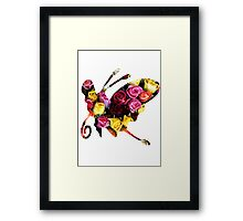 Beautifly used Sweet Scent Framed Print