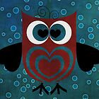 HOO Loves You by Elizabeth Burton