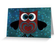 HOO Loves You Greeting Card