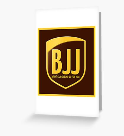 BJJ Greeting Card