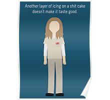 "Nicky Nichols: ""Shit Cake"" Poster"