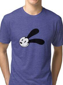 Oswald The Lucky Rabbit Smirk Tri-blend T-Shirt