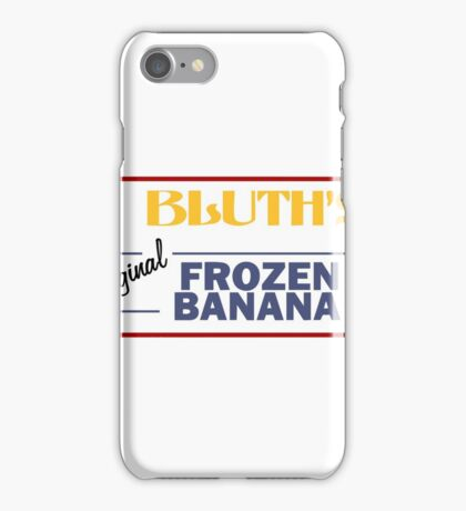 Bluth's Banana Stand iPhone Case/Skin