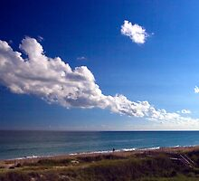 Carolina Coastline Clouds by Gene Walls