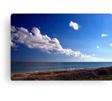 Carolina Coastline Clouds Canvas Print