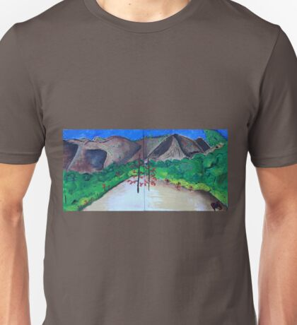 A View from Hahamongna Unisex T-Shirt