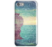 Lanscape mandala iPhone Case/Skin