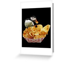 ☝ ☞THESE ARE MY PUFFIN CHIPS IPAD CASE☝ ☞ Greeting Card