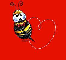 Bee Mine? {love & Valentine's Day} by offleashart