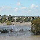 Beltline Railroad Bridge, Richmond, VA by AJ Belongia