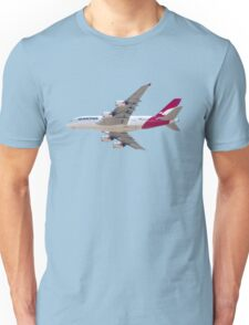 Qantas Airbus A380 plane Unisex T-Shirt