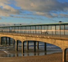 Boscombe Pier Sticker
