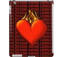 BURNING LOVE IPAD CASE iPad Case/Skin
