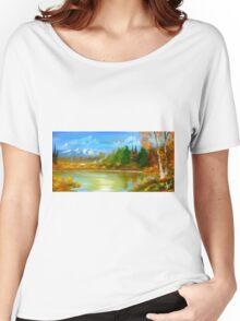 Autumn Landscape Women's Relaxed Fit T-Shirt