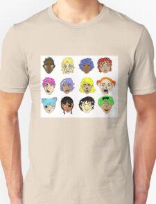 Pretty Monsters Pattern T-Shirt