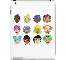 Pretty Monsters Pattern iPad Case/Skin