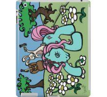 Teddy Bear and Bunny - My Little Headache iPad Case/Skin