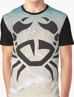 Tribal Sea Life - Crab Graphic T-Shirt