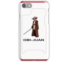 Star Wars - Obi-Juan iPhone Case/Skin