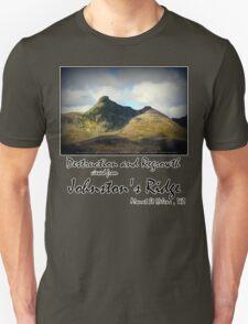 destruction and regrowth seen from Johnston's Ridge Unisex T-Shirt
