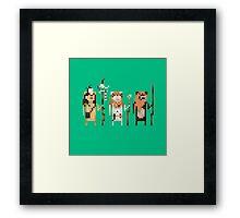 Tribal Leaders Framed Print