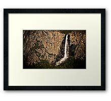 Bridalveil Fall Framed Print