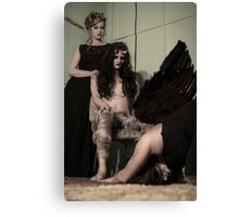 angel down Canvas Print