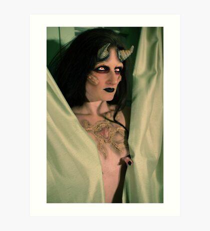 the demon inside Art Print