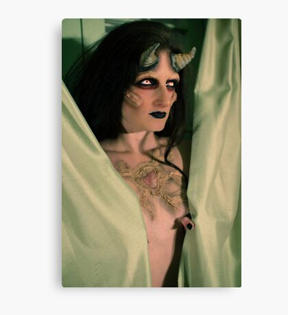 the demon inside Canvas Print