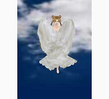 Serena cloaked in her wings   Unisex T-Shirt
