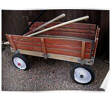Red Wagon Poster