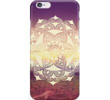 Landscape mandala iPhone Case/Skin