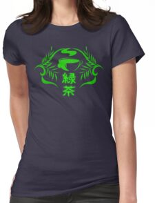 Soaked Leaves Womens Fitted T-Shirt