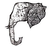 The Spotted elephant by jem16