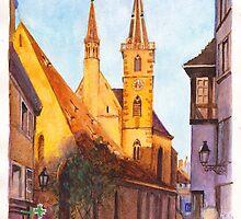 Eglise St Pierre-le-Vieux, Strasbourg, France by Dai Wynn