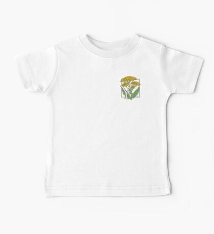 Y is for Yarrow patch Baby Tee