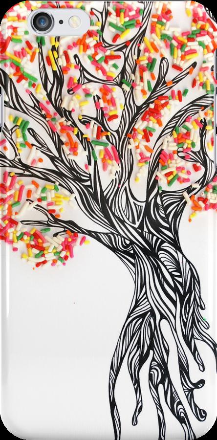 Sprinkle Tree by donnarebecca