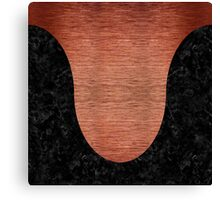 CRV3 BK MARBLE COPPER (R) Canvas Print