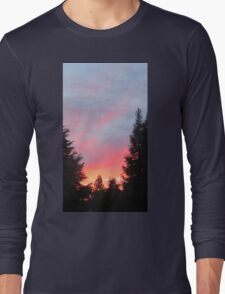 Sunset in the Suburbs  Long Sleeve T-Shirt