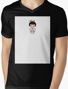 Japanese Doll 4 Mens V-Neck T-Shirt