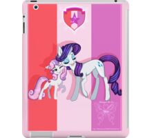 We're So Proud: Rarity and Sweetie Belle iPad Case/Skin