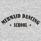 mermaid dancing school by personalized