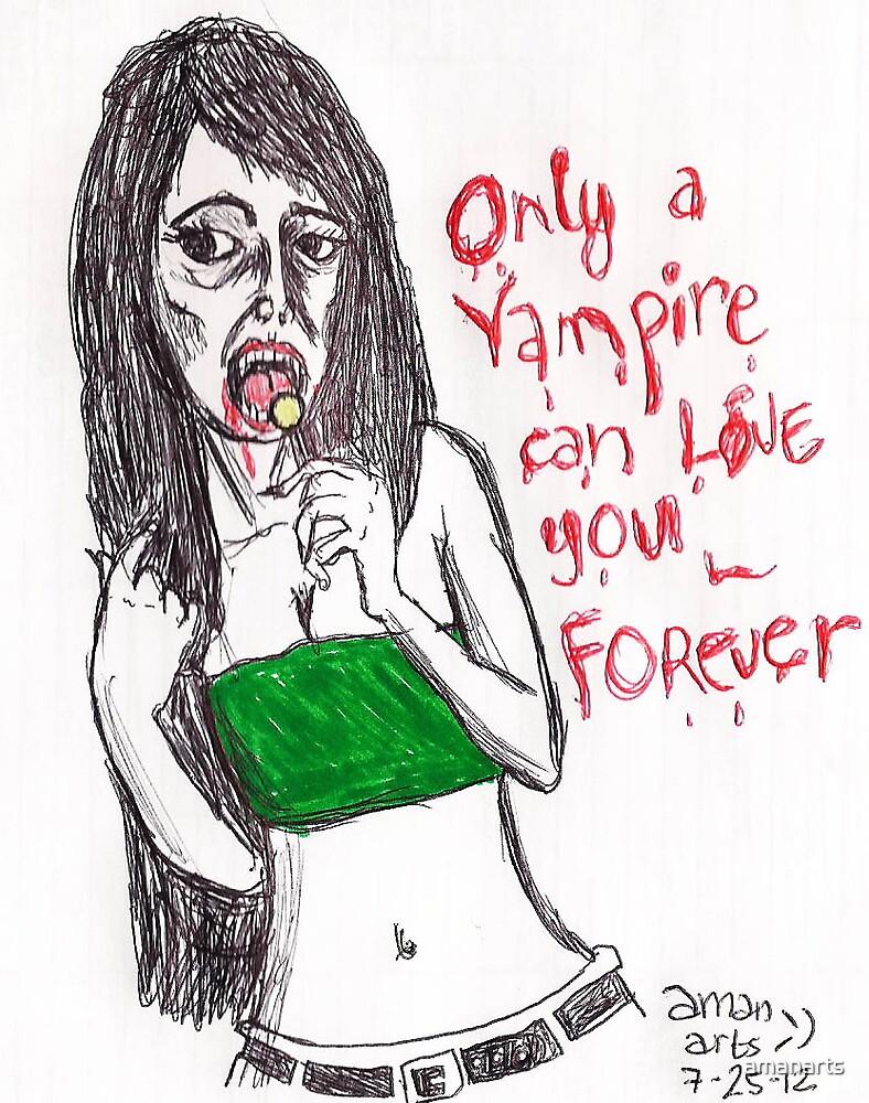 vampire by amanarts