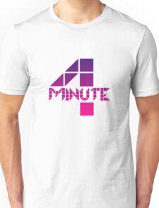 4minute Pink / Purple Gradient Logo Unisex T-Shirt