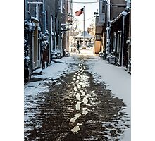 Fairfield Square Alley Photographic Print
