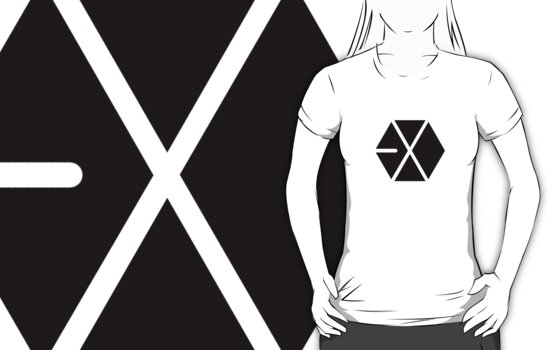 EXO Black Logo by madiamondring
