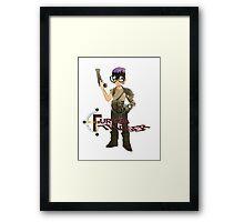 Furiosa Trigger  Framed Print