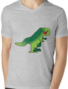Toothy Mens V-Neck T-Shirt