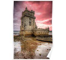 Torre de Belem Lisboa Poster