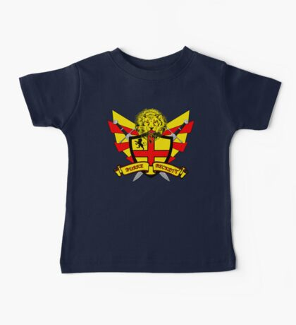 Burke Beckett Coat of Arms Baby Tee
